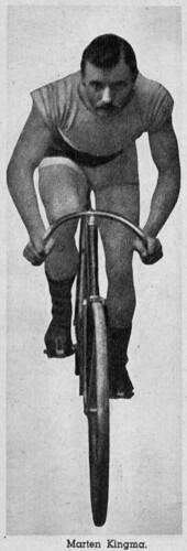 Marten Kingma, 1890s. Biker and figure-head   by letterlust