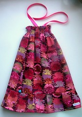 """Dress made with """"Potpourri"""" Coll. made by Coochooloo"""