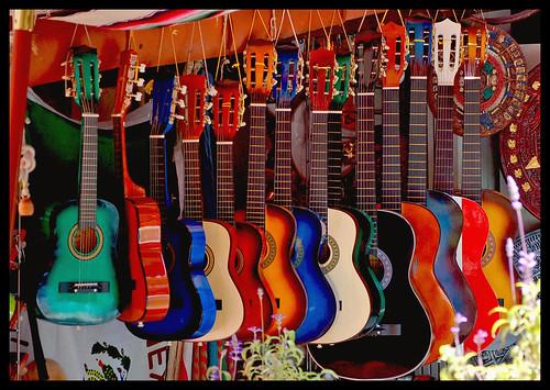 Hanging Guitars   by Zeetz Jones
