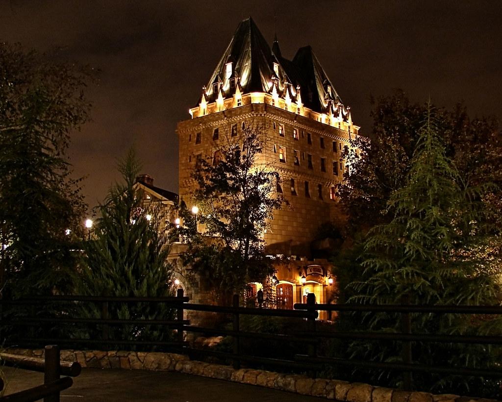 Disney - Canada at Night