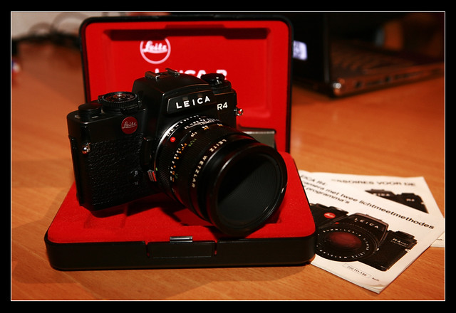 My NEW TOY Leica R4. (1983)