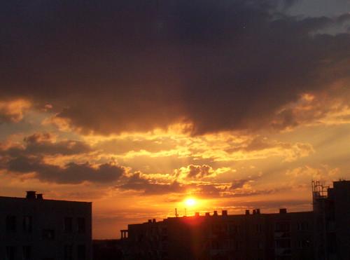 sunset sky sun clouds słońce zachód słońca kielce chmury niebo ślichowice perfectsunsetssunrisesandskys