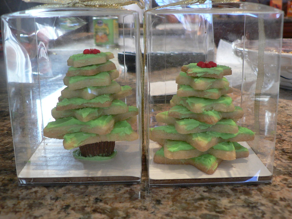 Stacked Christmas Tree Cookies How To How To Make Cute Sta Flickr
