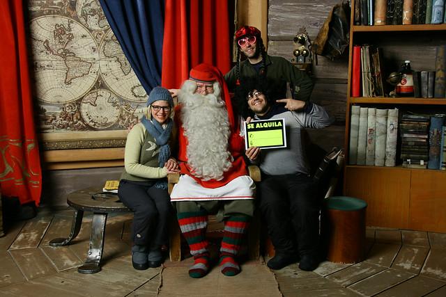 Papá Noel es la imagen más conocida de la navidad en Finlandia