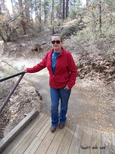 Laura at Lynx Lake