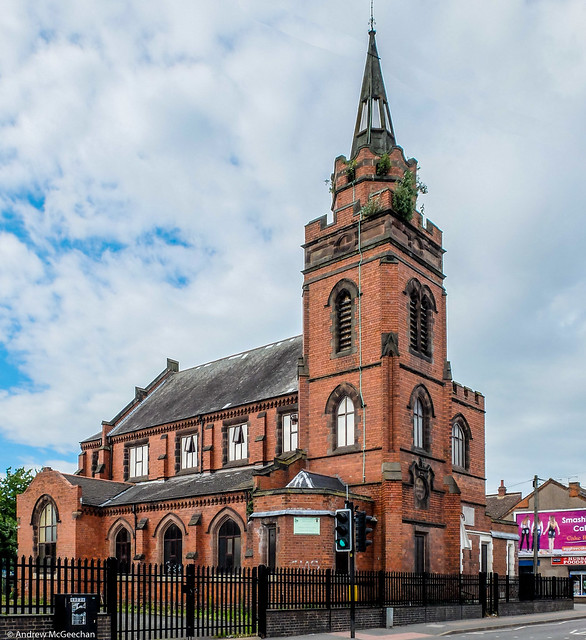 Wesleyan Church, Stoney Stanton Road Coventry (Harrison and Hattrell 1898)