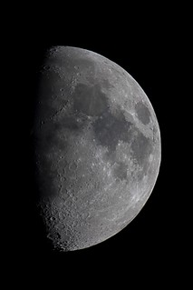 63% Waxing Gibbous Moon   by Cloggy1970