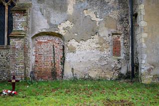 blocked door and low side window