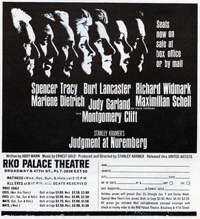 Judgement at Nuremberg (1961)