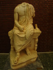 estatua escultura Museo de Afrodisias Turquia 73