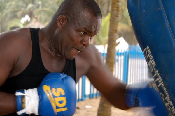 Augustin N'gou, Champion d'Afrique, lourd [ABC], Grand Bas… | Flickr