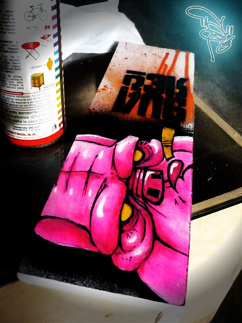 cerdo vicioso in wood!!   Inhale, exhale     do it GUAREO, d