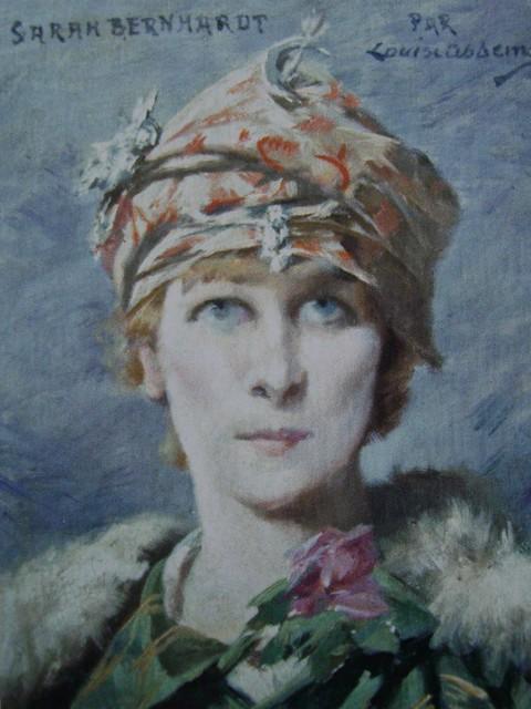 Sarah Bernhardt dans le rôle d'Adrienne Lecouvreur - Louise Abbéma (1853-1927)