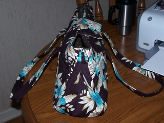 brown and blue purse 009