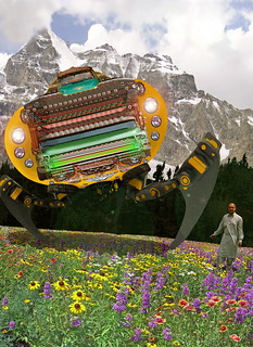The Chitral چترال Doctor unveils the Bedford Truck Landwalker