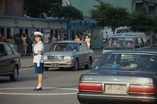 Traffic Lady. Pyongyang, North Korea. | by (stephan)
