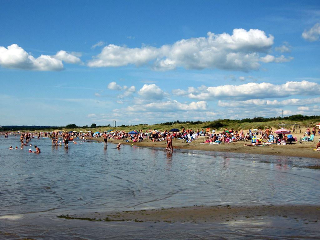 Ostra Stranden Halmstad Ostra Stranden Ligger Ca Fem Km F Flickr