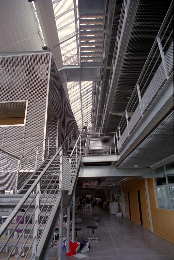 Marne School Of Architecture 1 Tschumi S Architecture