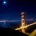 Golden Gate by moonlight by michaelcummings