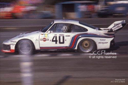 24 Heures du Mans 1976 Porsche Martini 935