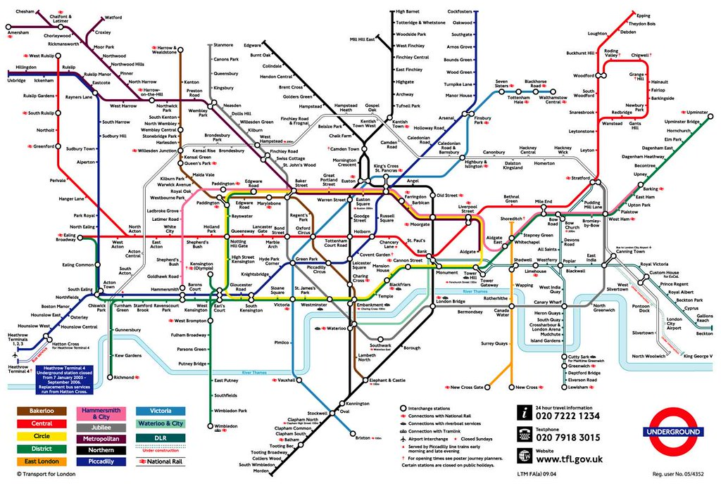 Carte Metro Londres.Plan Metro Tube Londres Badierjf Flickr