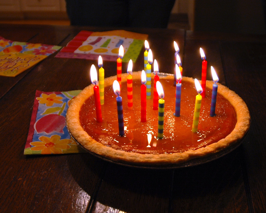 23 Candles On My Pumpkin Pie. | I turned 23 on November 10th… | Flickr