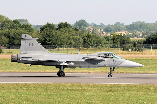Gripen - RIAT 2006 | by Airwolfhound