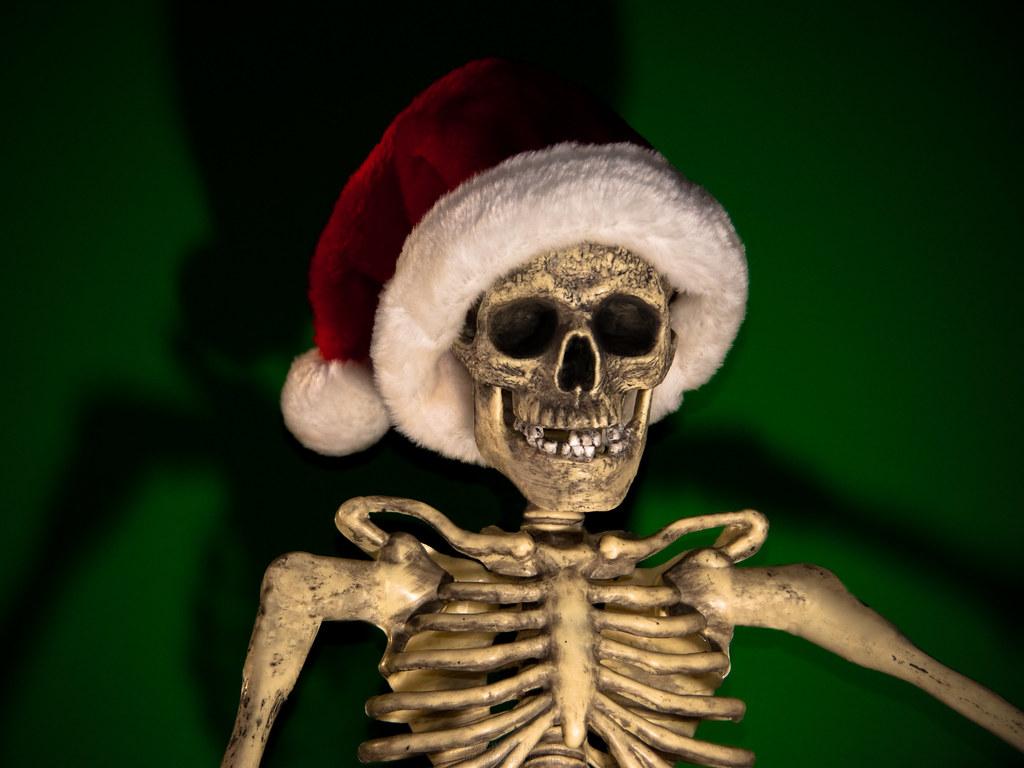 Christmas Skeleton.Christmas Skeleton Jciv Flickr