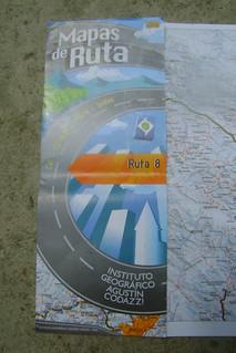 DSC00536 Mapas de Ruta - the excellent strip-maps we used in Colombia | by Hobobiker