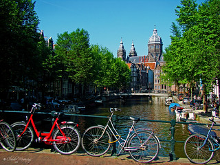 Amsterdam, Holland 083 - 1 million bikes | by Claudio.Ar