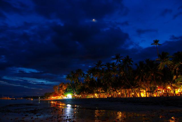 Alona Tropical Beach Resort Panglao Bohol At Night Flickr