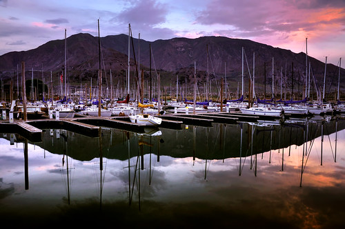 sunset lake reflection digital marina landscape boats utah dock colorful greatsaltlake sailboats masts d300 oquirrhmountains greatsaltlakestatemarina