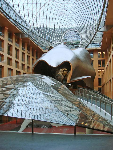 L'intérieur de la DZ Bank AG (Berlin)