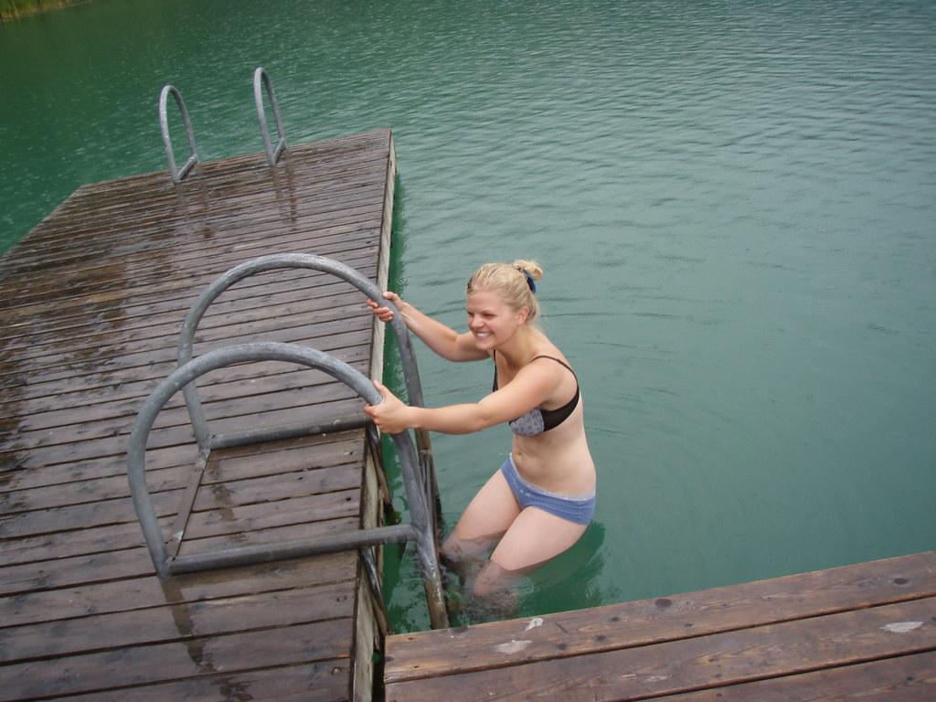 Swimming In Panties Photos