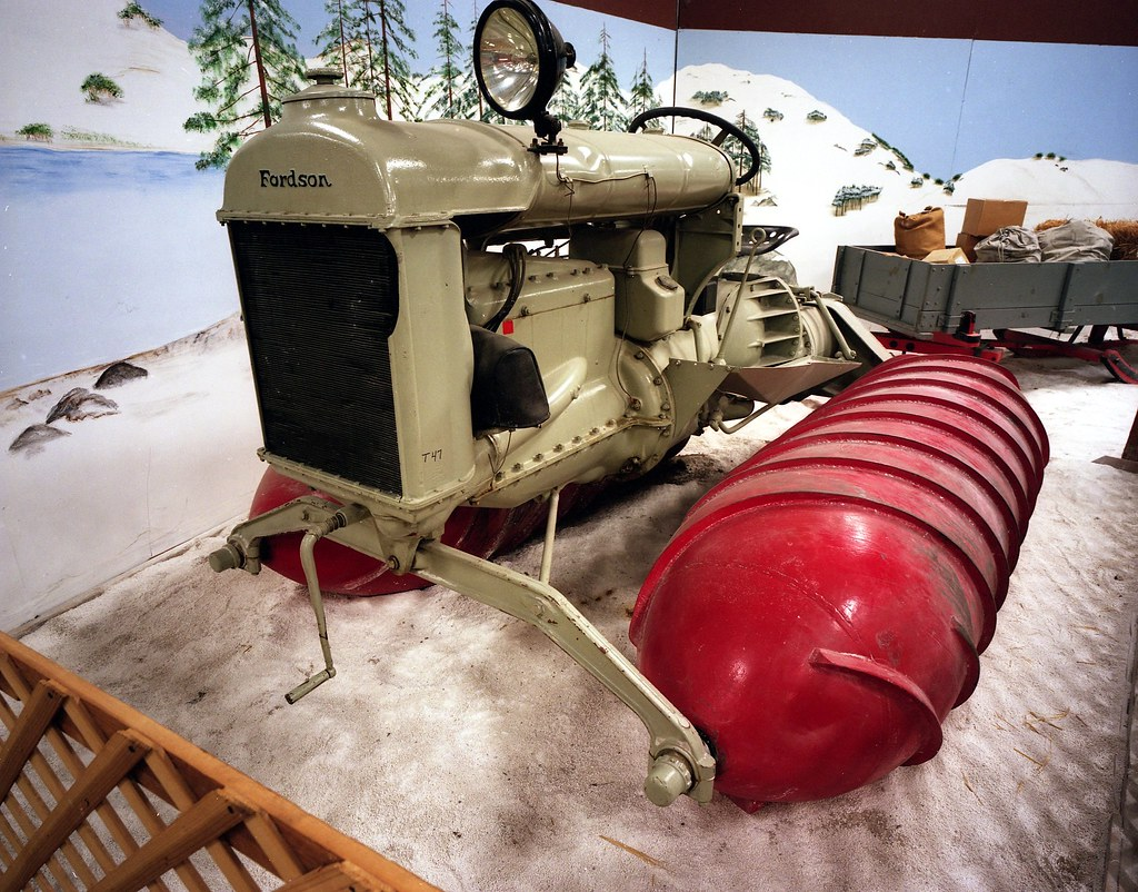 1926 Fordson snowmobile by refractionless (restricted)
