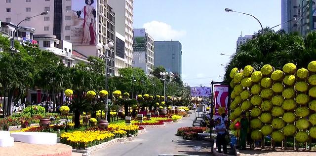 VIETNAM - Saigon - Festlich geschmückt