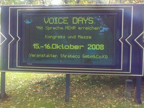 Voicedays in Wiesbaden | by whatleydude
