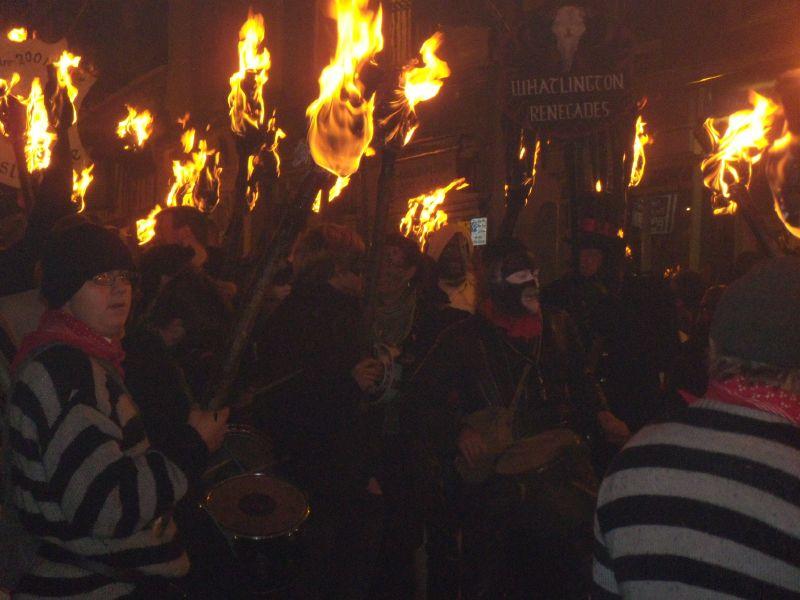 torches Robertsbridge to Battle