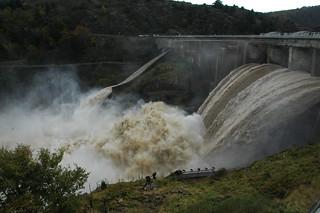 Dam & flood   by Richard Weil