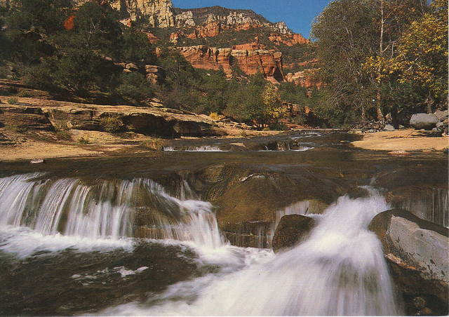 Oak Creek Canyon Postcard