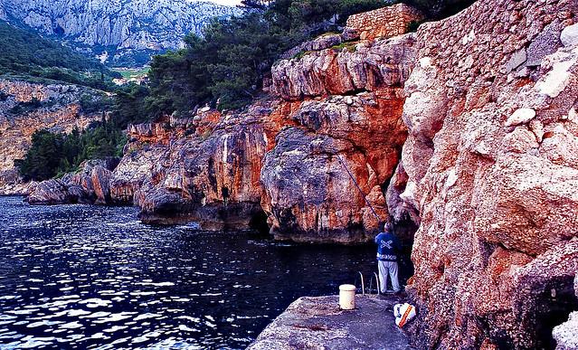 Fishing in Sveta Nedjelja