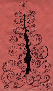 red doodle tree