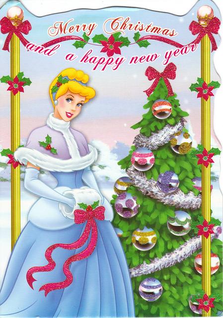 Cinderella Christmas Card