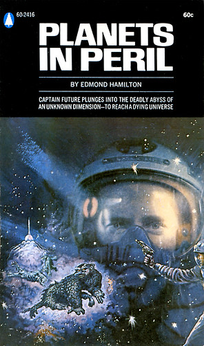 Planets In Peril By Edmond Hamilton