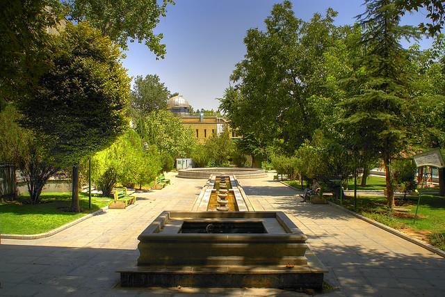 Zaferanieh Park and Observatory, Tehran, Iran (Persia) پارک و رصدخانه زعفرانیه، تهران
