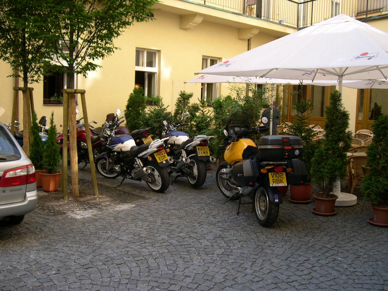 Parked in Prague