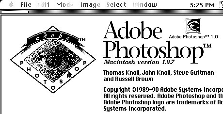 Adobe Photoshop 1 About dialog box   by ▓▒░ TORLEY ░▒▓