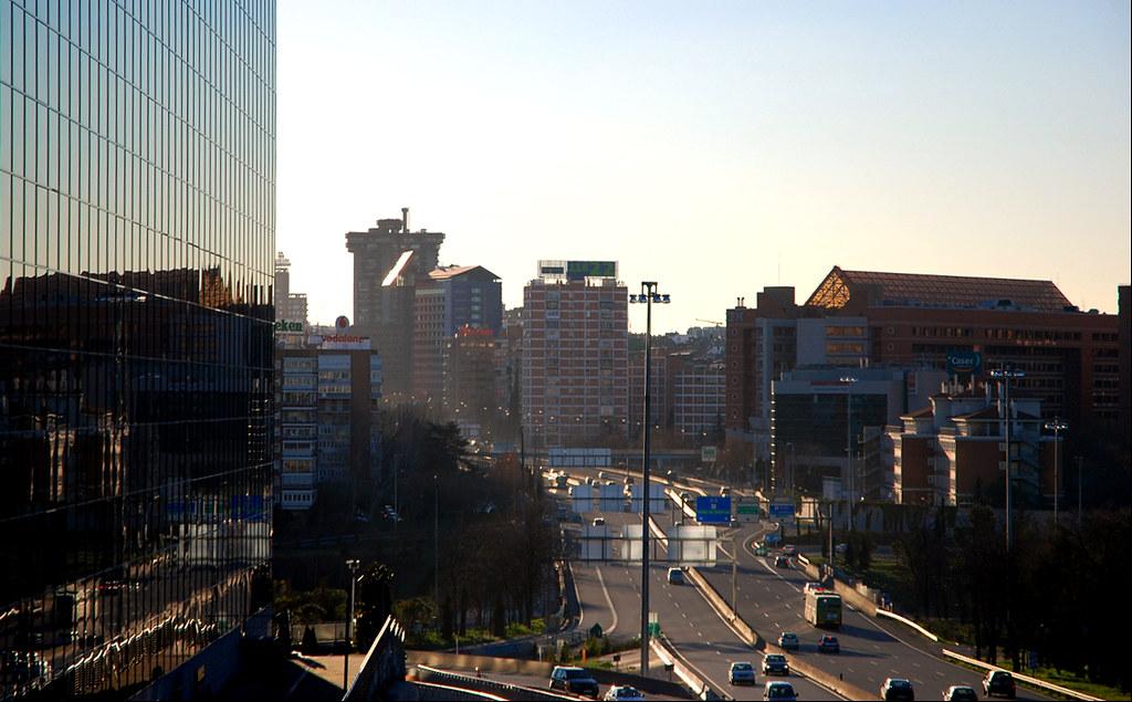 Madrid Zona Avenida De America Desde Arturo Soria Jose Javier