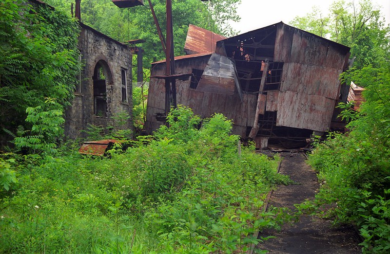 Kaymoor Mine Ruins