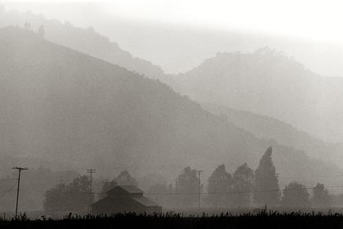 Hazy afterrnoon